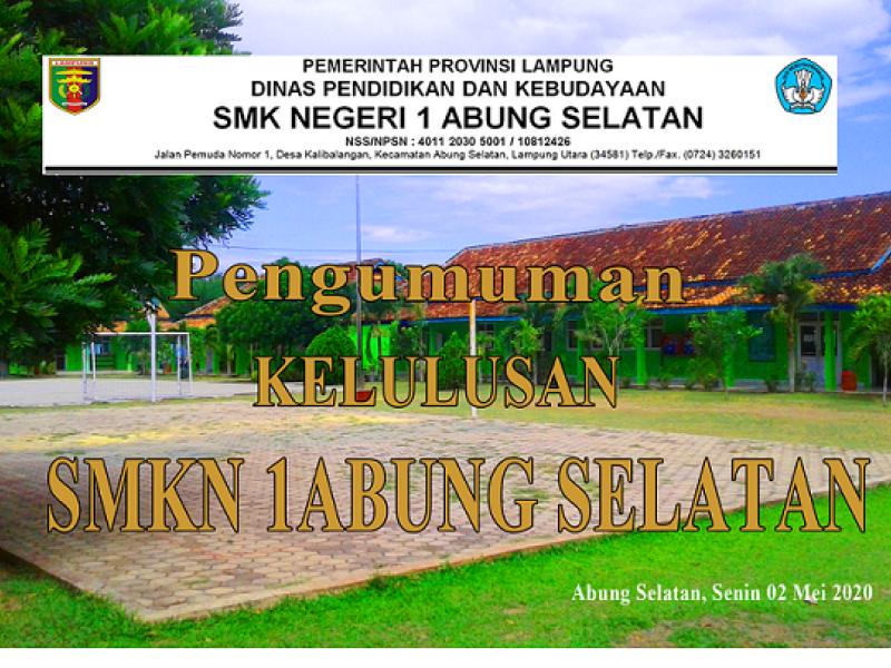 RAPAT KELULUSAN SMKN 1 ABUNG SELATAN TA 2019-2020