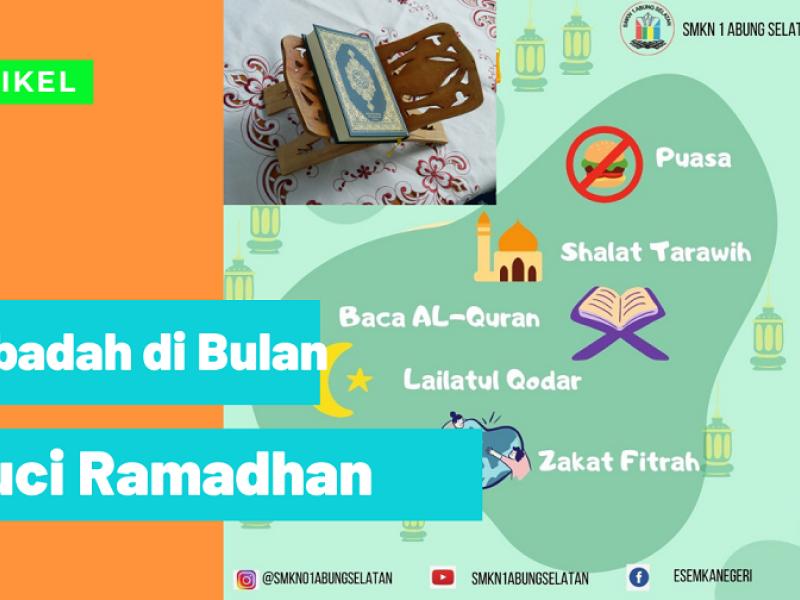 5 Ibadah di Bulan Suci Ramadhan